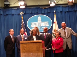 Rachel Robinson honored at the California State Capitol