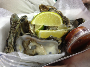 Oysters at the ballpark