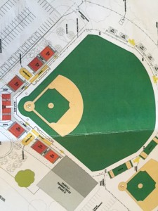 Rendering of the new Renfree Field